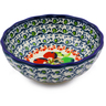 5-inch Stoneware Scalloped Bowl - Polmedia Polish Pottery H8093I