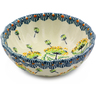 5-inch Stoneware Scalloped Bowl - Polmedia Polish Pottery H8095I