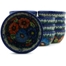 5-inch Stoneware Set of 12 Bowls - Polmedia Polish Pottery H5275J