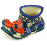 5-inch Stoneware Shoe Shaped Jar - Polmedia Polish Pottery H5442F