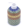 5-inch Stoneware Soap Dispenser - Polmedia Polish Pottery H1584B