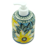 5-inch Stoneware Soap Dispenser - Polmedia Polish Pottery H2178B