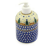 5-inch Stoneware Soap Dispenser - Polmedia Polish Pottery H4635D