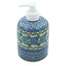 5-inch Stoneware Soap Dispenser - Polmedia Polish Pottery H6504A