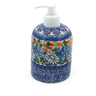 5-inch Stoneware Soap Dispenser - Polmedia Polish Pottery H6727J
