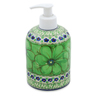 5-inch Stoneware Soap Dispenser - Polmedia Polish Pottery H6790J