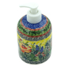 5-inch Stoneware Soap Dispenser - Polmedia Polish Pottery H9315I