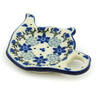 5-inch Stoneware Tea Bag or Lemon Plate - Polmedia Polish Pottery H1651H