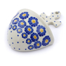 5-inch Stoneware Wall Pocket - Polmedia Polish Pottery H2867J