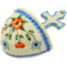 5-inch Stoneware Wall Pocket - Polmedia Polish Pottery H2869E