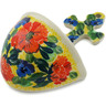 5-inch Stoneware Wall Pocket - Polmedia Polish Pottery H2962K