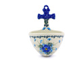 5-inch Stoneware Wall Pocket - Polmedia Polish Pottery H6966I