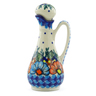 5 oz Stoneware Bottle - Polmedia Polish Pottery H3268J