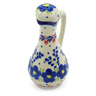 5 oz Stoneware Bottle - Polmedia Polish Pottery H4080J