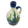 5 oz Stoneware Bottle - Polmedia Polish Pottery H6097I