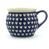 5 oz Stoneware Bubble Mug - Polmedia Polish Pottery H0267H