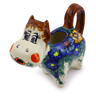 5 oz Stoneware Cow Shaped Creamer - Polmedia Polish Pottery H1154F