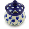 5 oz Stoneware Sugar Bowl - Polmedia Polish Pottery H4589G