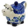 5 oz Stoneware Sugar Bowl - Polmedia Polish Pottery H6499K