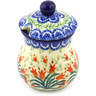 5 oz Stoneware Sugar Bowl - Polmedia Polish Pottery H6828F