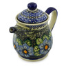 50 oz Stoneware Pitcher with Lid - Polmedia Polish Pottery H6146I