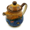 50 oz Stoneware Pitcher with Lid - Polmedia Polish Pottery H6168I