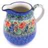 51 oz Stoneware Pitcher - Polmedia Polish Pottery H0520G