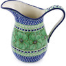 51 oz Stoneware Pitcher - Polmedia Polish Pottery H0539G