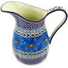 51 oz Stoneware Pitcher - Polmedia Polish Pottery H3470G