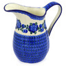 51 oz Stoneware Pitcher - Polmedia Polish Pottery H3879E