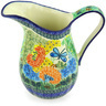 51 oz Stoneware Pitcher - Polmedia Polish Pottery H5162G