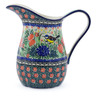 51 oz Stoneware Pitcher - Polmedia Polish Pottery H5451I