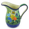 51 oz Stoneware Pitcher - Polmedia Polish Pottery H6572G