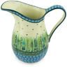 51 oz Stoneware Pitcher - Polmedia Polish Pottery H6741G