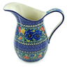 51 oz Stoneware Pitcher - Polmedia Polish Pottery H7504I