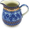 51 oz Stoneware Pitcher - Polmedia Polish Pottery H8632G