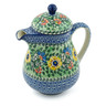 52 oz Stoneware Pitcher with Lid - Polmedia Polish Pottery H0005B