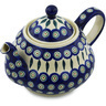 52 oz Stoneware Tea or Coffee Pot - Polmedia Polish Pottery H2987H