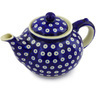52 oz Stoneware Tea or Coffee Pot - Polmedia Polish Pottery H3032G