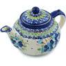 52 oz Stoneware Tea or Coffee Pot - Polmedia Polish Pottery H3556H