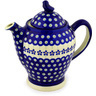 52 oz Stoneware Tea or Coffee Pot - Polmedia Polish Pottery H9645C