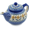 52 oz Stoneware Tea or Coffee Pot - Polmedia Polish Pottery H9747H