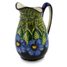 53 oz Stoneware Pitcher - Polmedia Polish Pottery H5381I