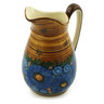 53 oz Stoneware Pitcher - Polmedia Polish Pottery H6143I