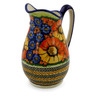 53 oz Stoneware Pitcher - Polmedia Polish Pottery H6144I