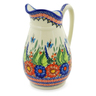 54 oz Stoneware Pitcher - Polmedia Polish Pottery H4216K