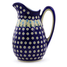 54 oz Stoneware Pitcher - Polmedia Polish Pottery H7061I