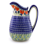 54 oz Stoneware Pitcher - Polmedia Polish Pottery H9107I