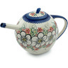 55 oz Stoneware Tea or Coffee Pot - Polmedia Polish Pottery H9387H