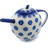 55 oz Stoneware Tea or Coffee Pot - Polmedia Polish Pottery H9445H